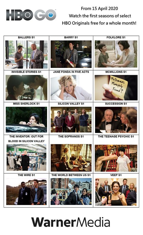 Free HBO First Seasons