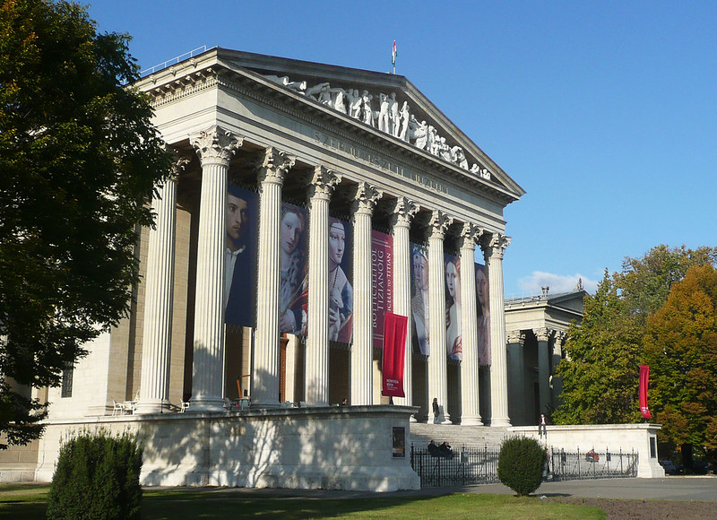 The Museum of Fine Arts, Budapest, HUNGARY