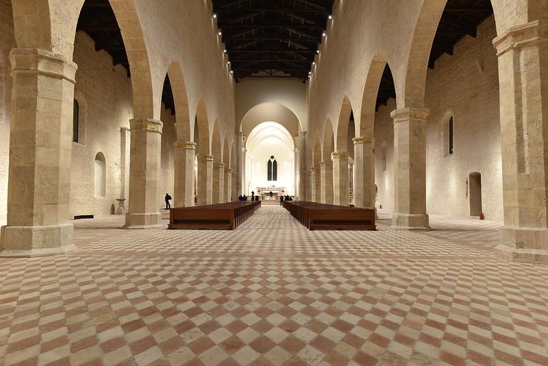 Basilica of Santa Maria di Collemaggio, L'Aquila, ITALY