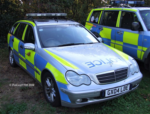 Sussex Police Mercedes C-Class GX04 LDE