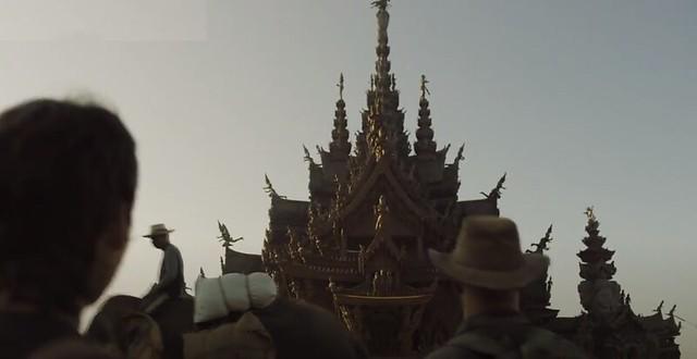 Santuario de la Verdad en Pattaya, el cual aparece en la serie La Casa de Papel