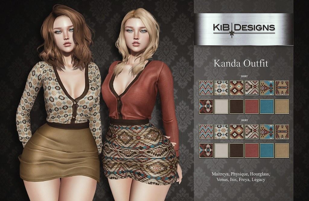 KiB Designs – Kanda Outfit @Sense Event