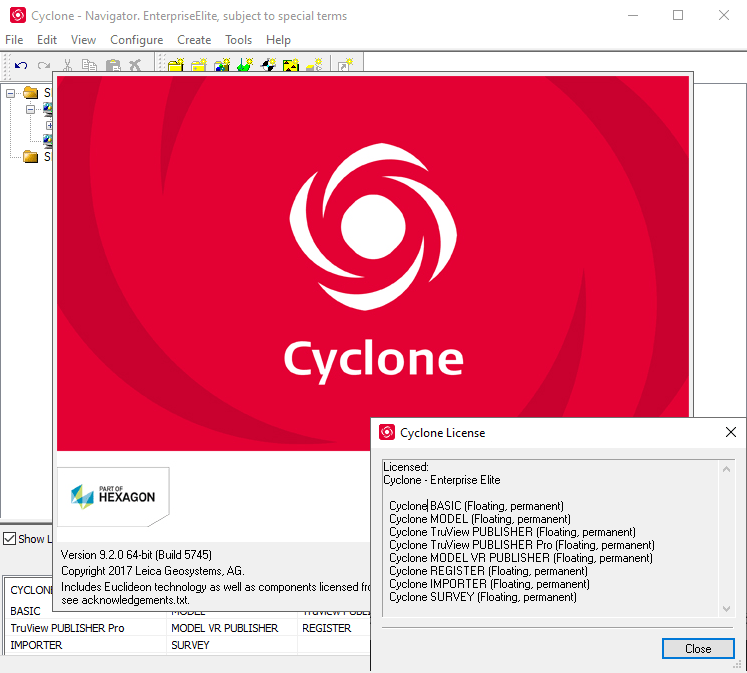 Working with Leica Cyclone Enterprise Elite 9.2 full license