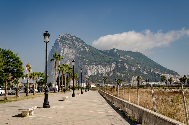 Another point of view - Gibraltar Rock