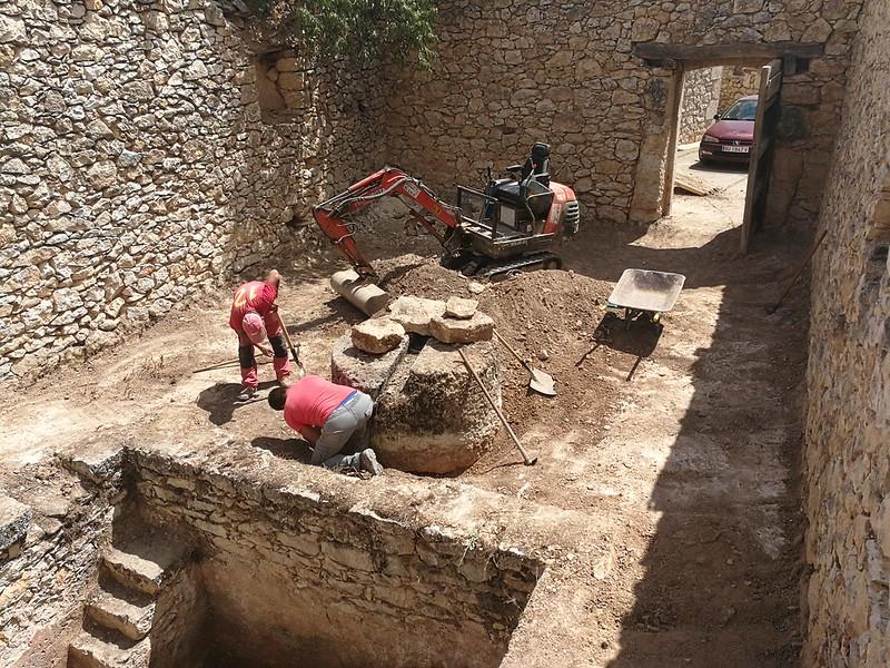 Subterranean Caves and Wineries of El Cotarro, province of Burgos, SPAIN