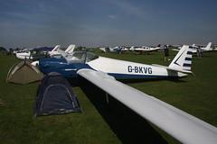 G-BKVG Scheibe SF-25E [4362] Sywell 010918