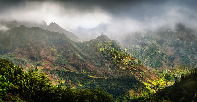 The mountains of Central Madeira
