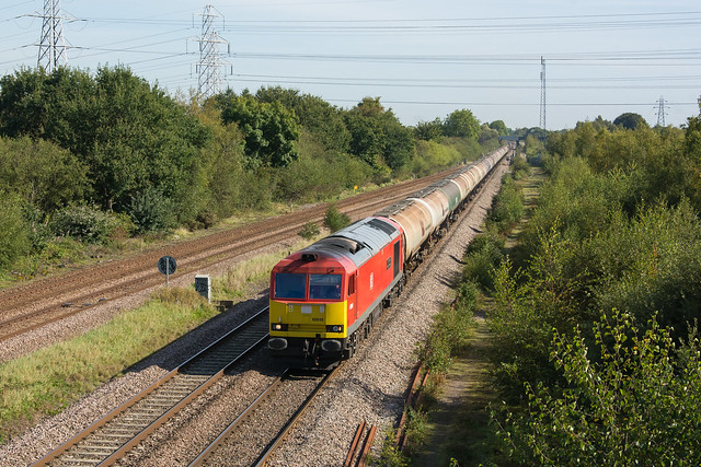 60040 North Staffs Junction 16/09/19 - 6M57 0717 Lindsey Oil Refinery to Kingsbury Oil Sdgs