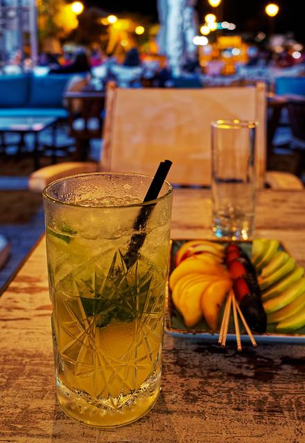 A Mojito ( Blue Waves Cafe -Bar ) Myrina Town - Lemnos (Olympus OM-D EM1.2)