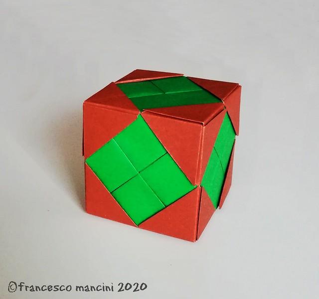 Greek cross cube