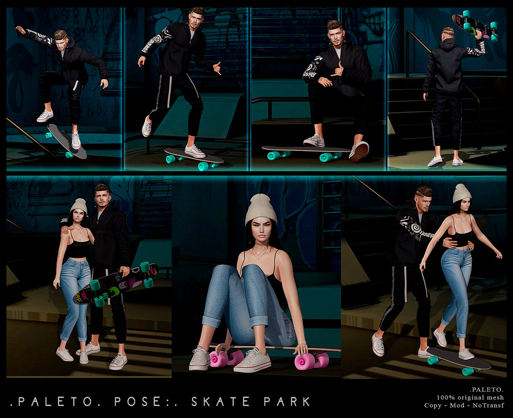 .PALETO. Pose:. Skate Park