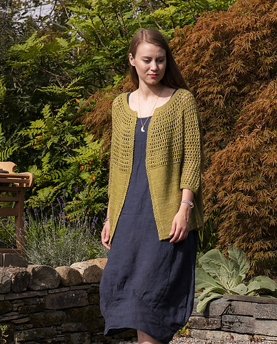 Greenall by Sadiyyah Talley from The Fibre Company's Foundations SS20 collection of knitting patterns to celebrate Spring.