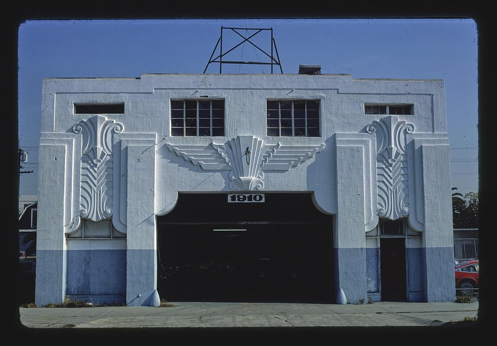 Garage, 1910 Long Beach Boulevard, Long Beach, California (LOC)