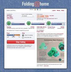 Folding@home Coronavirus Project