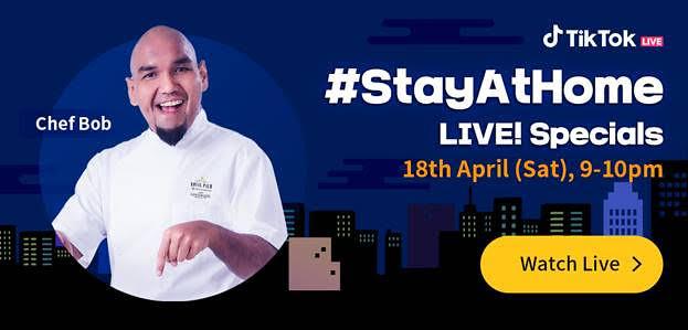 Siti Nurhaliza & Fattah Amin Join Malaysia's TikTok #StayAtHome Live! Specials