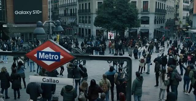Plaza del Callao, una de las localizaciones de Madrid donde se grabó La Casa de Papel