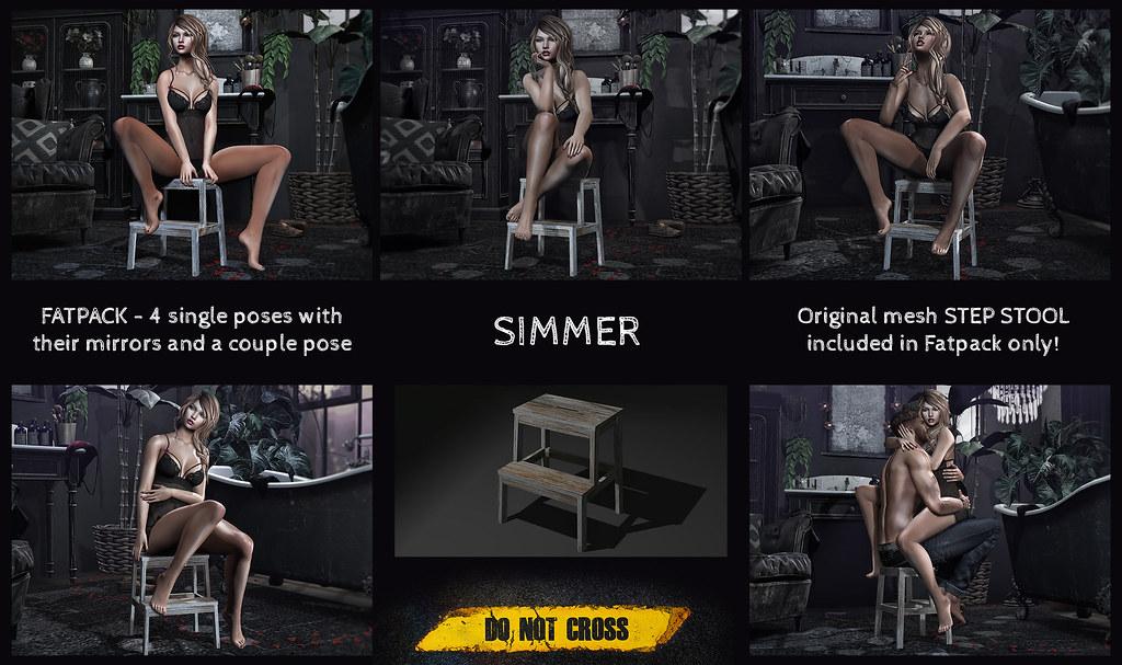 -DNC- Simmer – Step Stool FATPACK