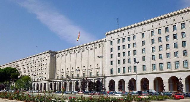 Nuevos Ministerios (uno de los escenarios de La Casa de Papel)