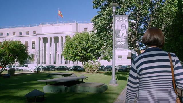 Sede del CSIC en Madrid, localización donde se grabó la supuesta Fábrica Nacional de Moneda y Timbre en La Casa de Papel