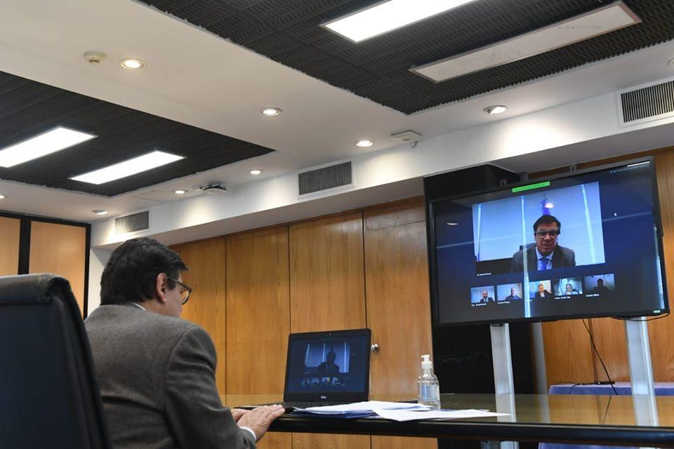 2020-04-17 GOBIERNO: Videoconferencia 144 reunión plenaria COFETRA