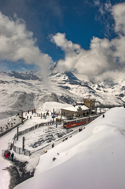 Let's go to see the Matterhorn from the Gornergrat . Canton of Valais, Switzerland. Izakigur No. 4229. Take care & stay safe )