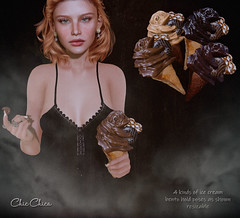 Choco IceCream by ChicChica @ Tres Chic