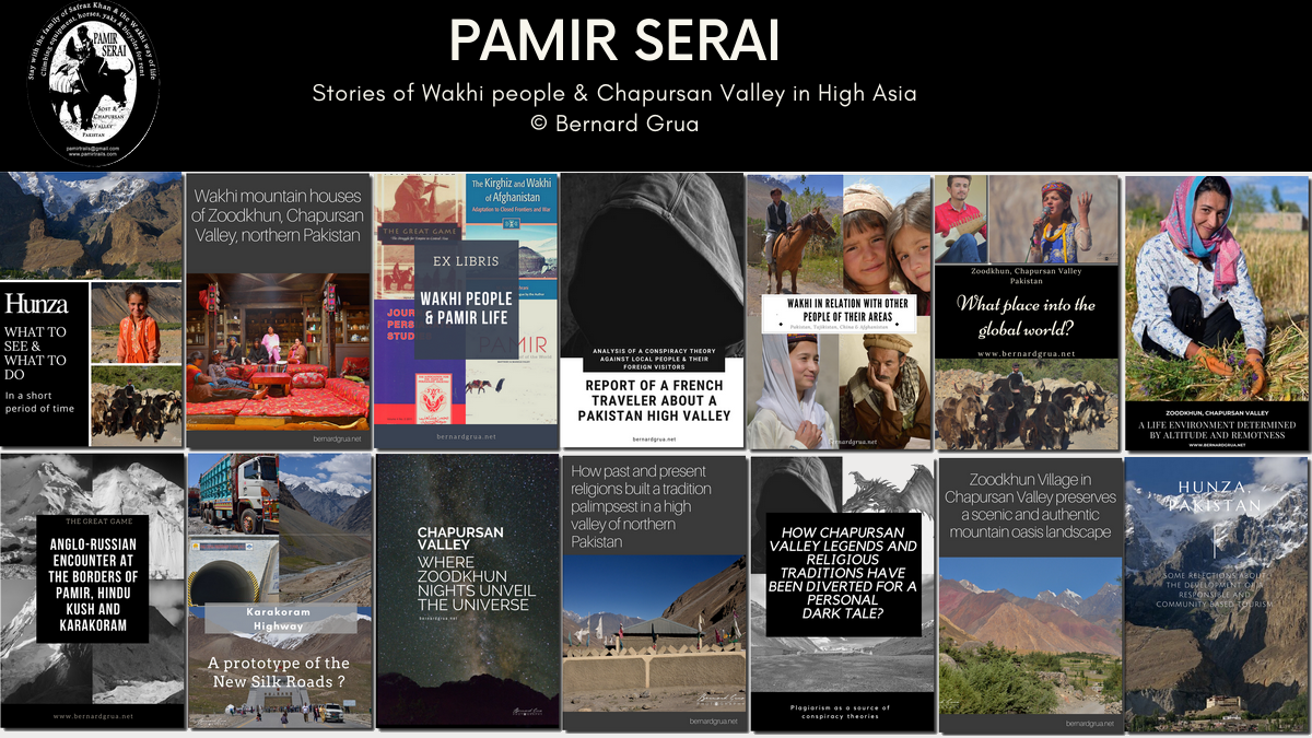 Pamir Serai selection of Hunza and Chapursan stories