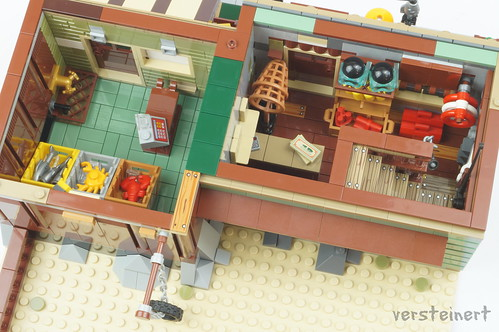 Old Fishing Store - Alternative Build