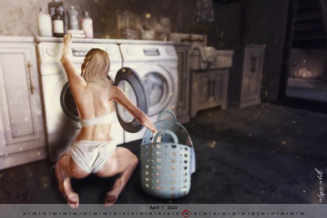 ... laundry today ...