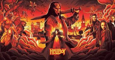 Where was Hellboy filmed