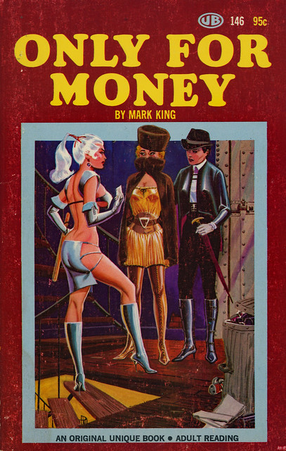 Unique Books 146 - Mark King - Only for Money