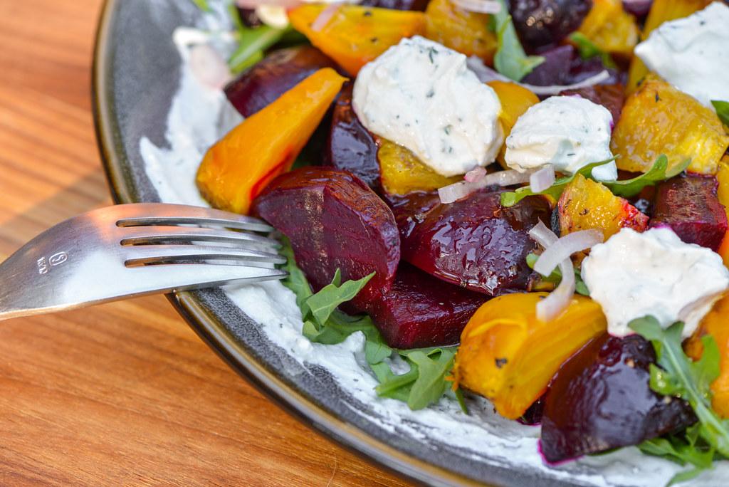 Grill-roasted Beet Salad