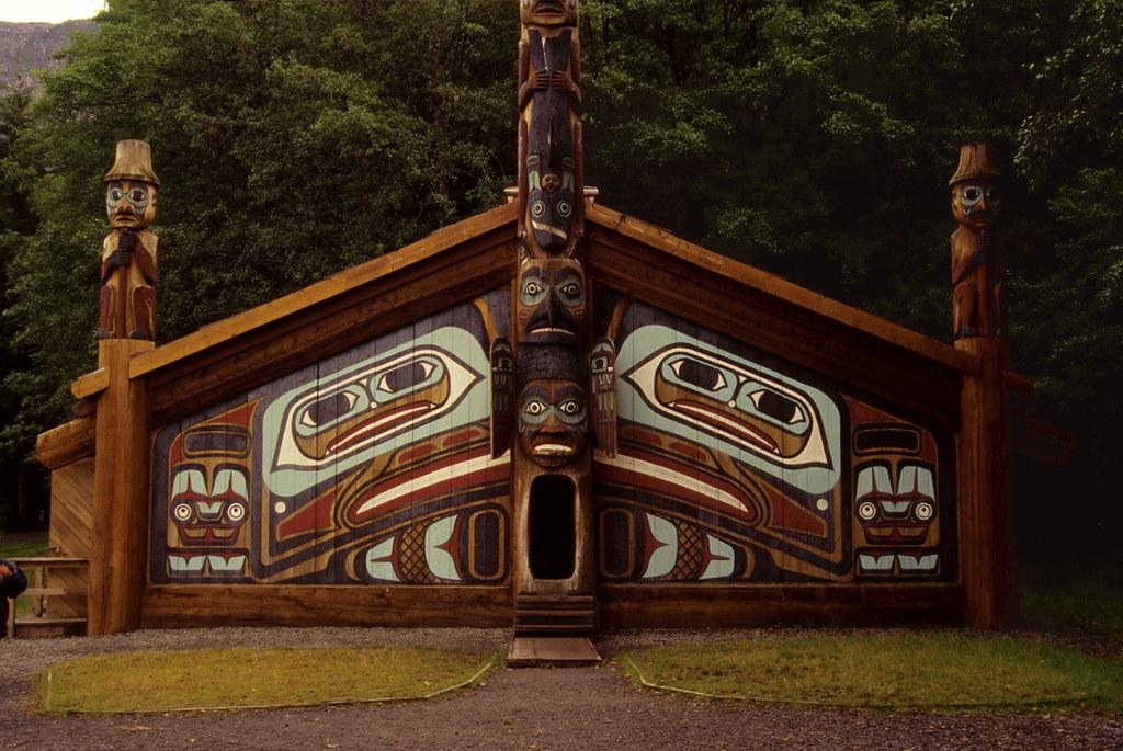 Tlingit Winter Clan House | Ketchikan, AK. 1994 | flexible fotography |  Flickr