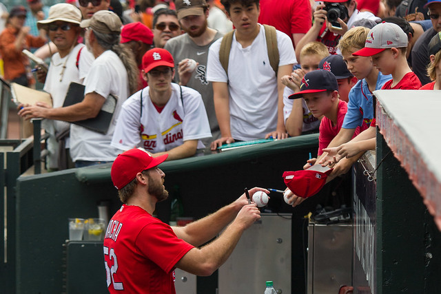 Michael Wacha and Fans
