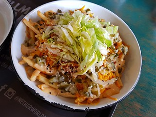 Lycan Loaded Fries at Netherworld Arcade