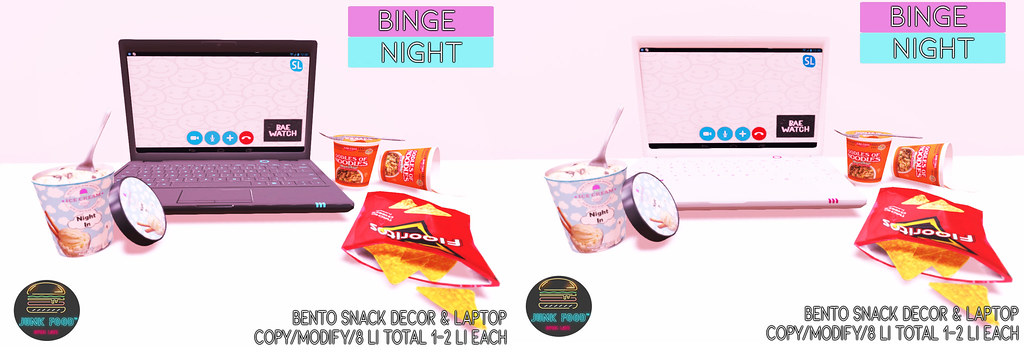 Junk Food - Binge Night Ad