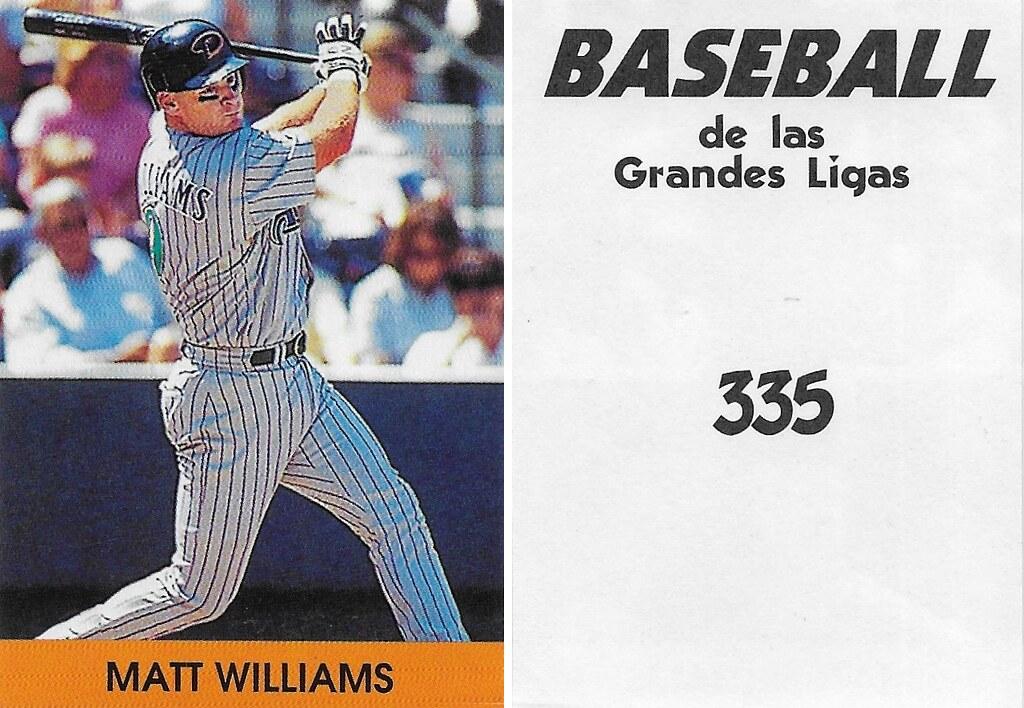 2000 Venezuelan Matt Williams