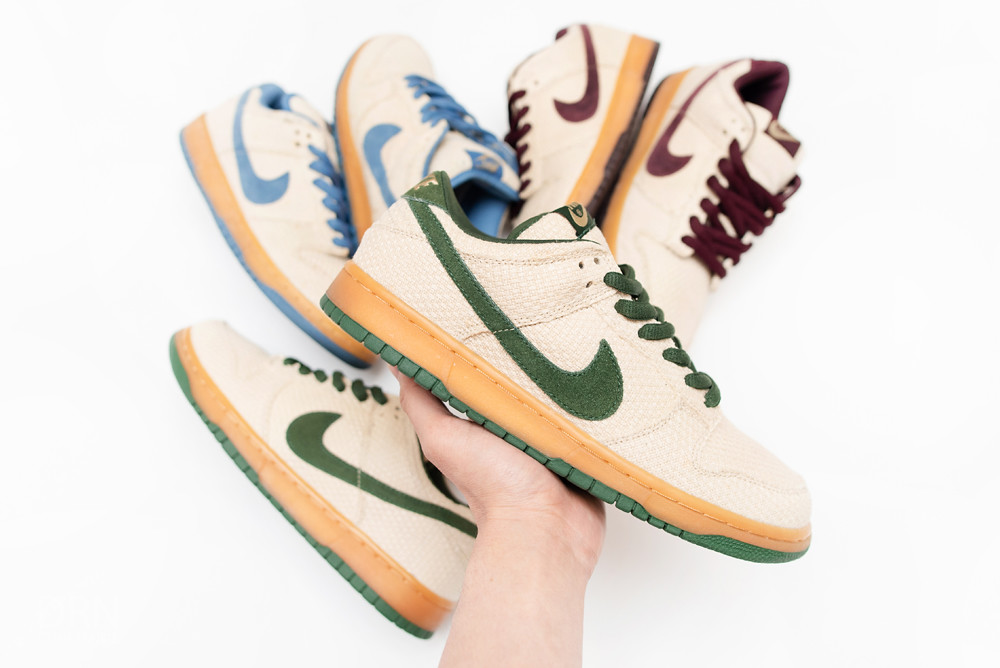 Nike Dunk SB Low Hemp Set.