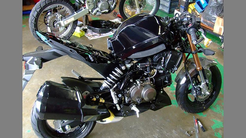 Kawasaki h2 P