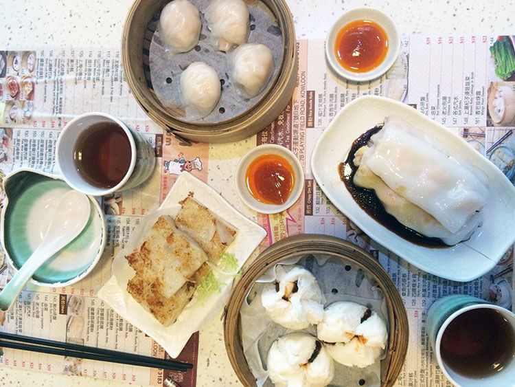 Hong Kong Dim Sum food