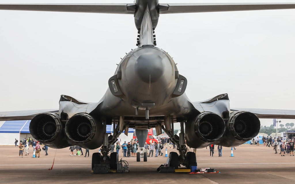 B-1B Lancer AF85069 RIAT2018 Air Tattoo