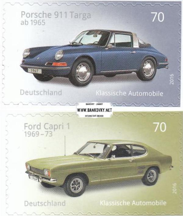 Známky Západné Nemecko 2016 Klasické autá