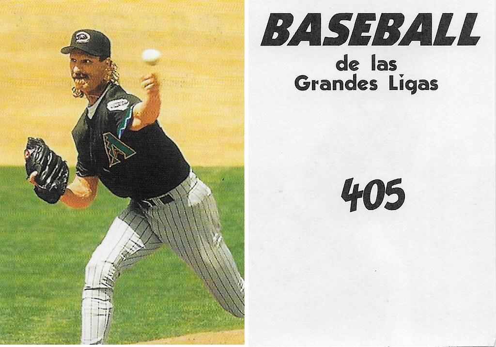 2000 Venezuelan Randy Johnson 405