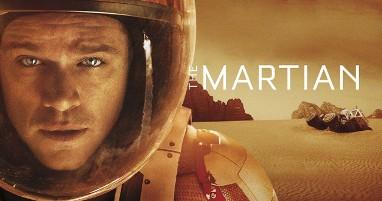 Where was The Martian filmed