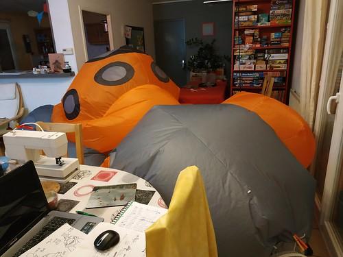 projet en cours: tortue gonflable 49787281228_3611c4840d