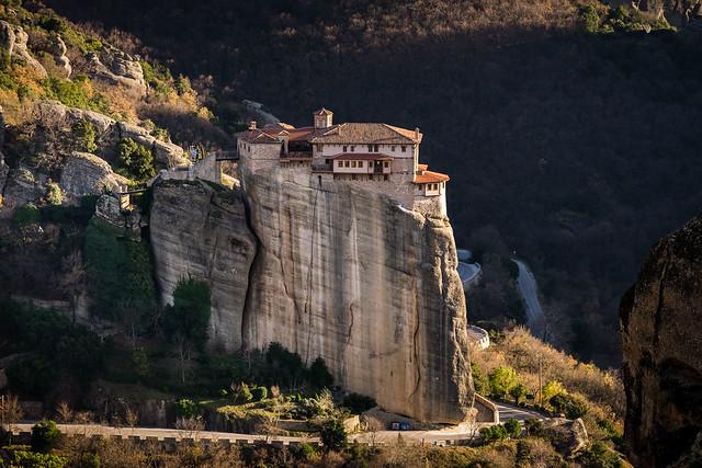 Monastery Rousanou, Meteora, Greece