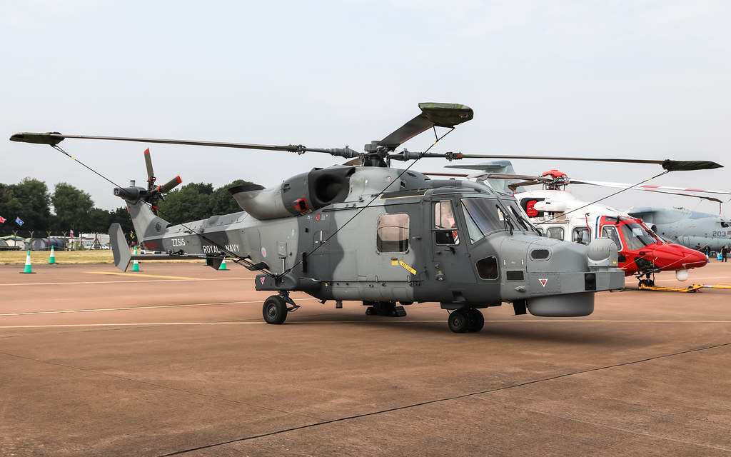 AgustaWestland AW159 Lynx Wildcat ZZ515 Royal Navy RIAT2018 Air Tattoo