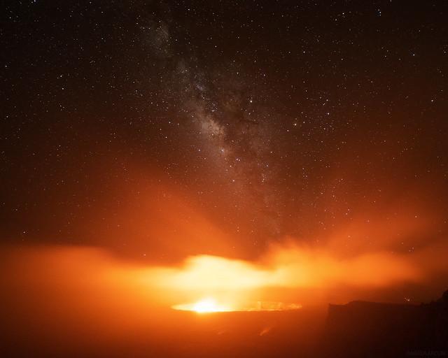 Foggy Kilauea