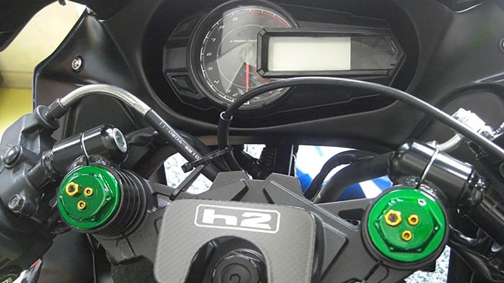 Kawasaki h2 Cockpit