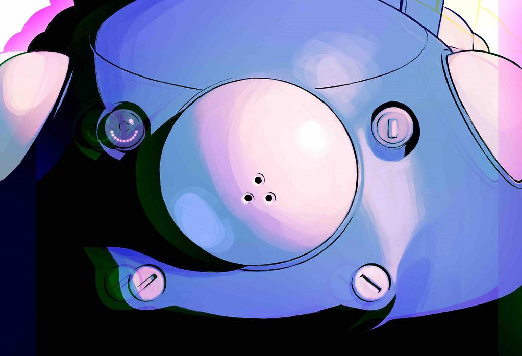 200418 – 俄羅斯男性插畫家「Ilya Kuvshinov」設計動畫《攻殼機動隊 SAC_2045》主角14人海報公開、在23日上架Netflix!